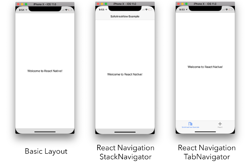 safeareaview in react native