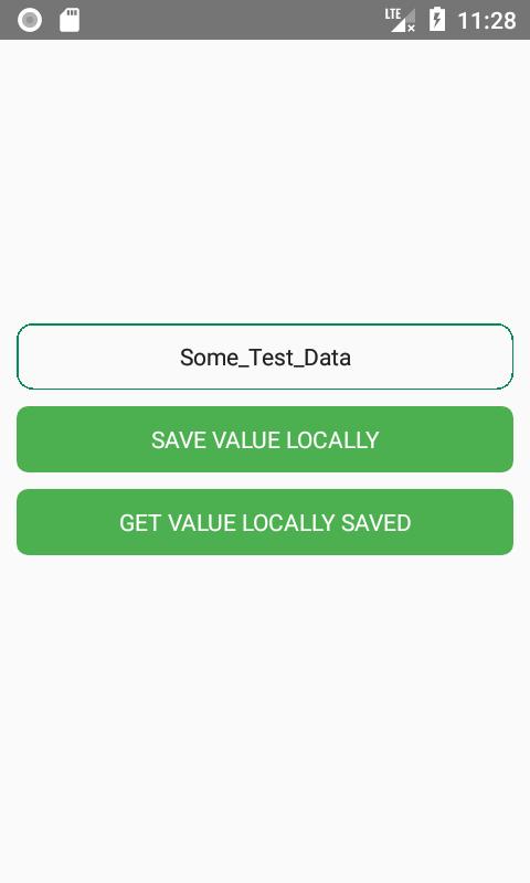 ذخیره سازی اطلاعات به صورت لوکال با asyncstorage درReact native