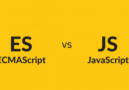 مقایسه ECMAScript و JavaScript