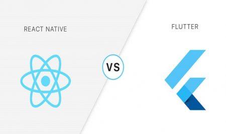 مقایسه React Native با Flutter