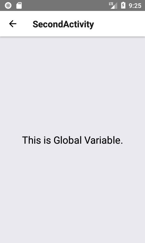 متغیر Global در React Native