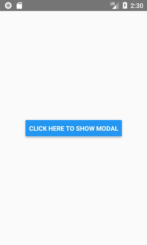Modal در React Native