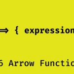 arrow functions در جاوا اسکریپت