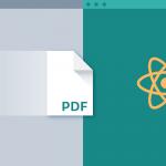 تبدیل متن به pdf در react native