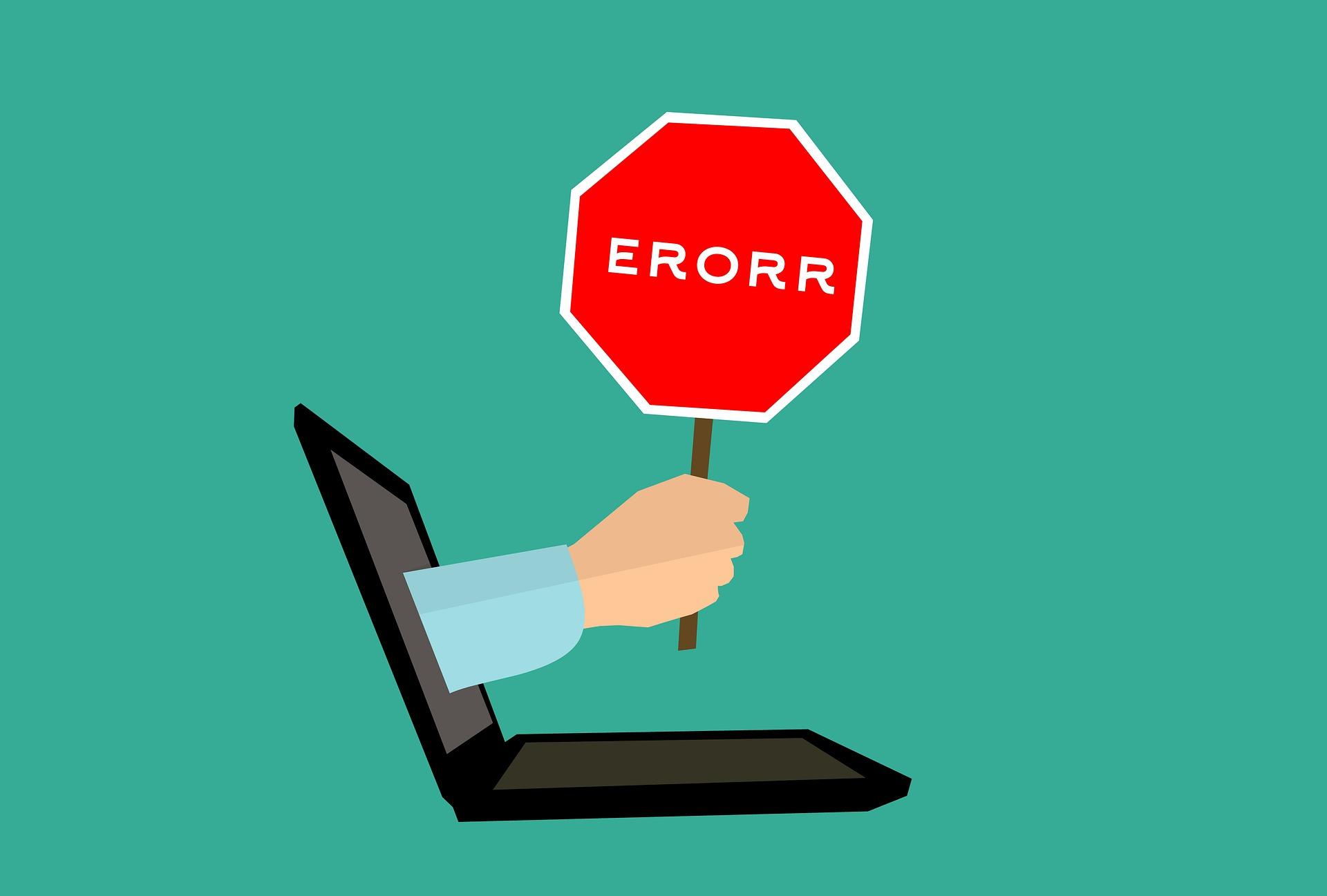 مدیریت خطا یا handling errors در جاوا اسکریپت(javascript)