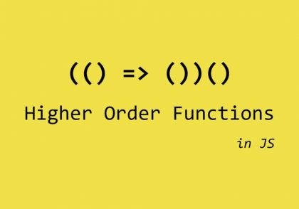 higher order function در جاوا اسکریپت