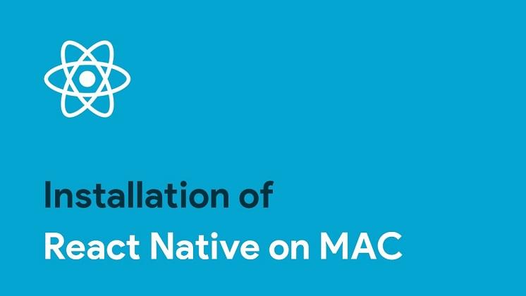 آموزش نصب react native در مک