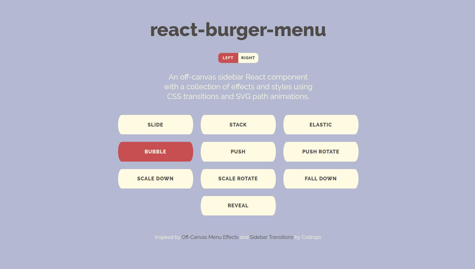 react-burgermenu