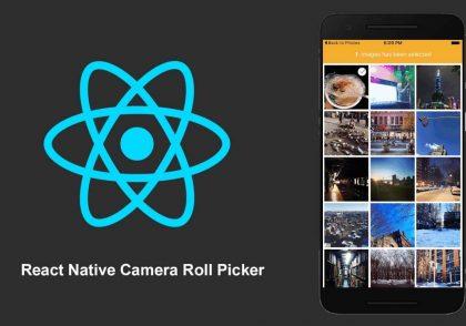 نمایش تصاویر گوشی در react native