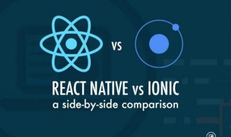 مقایسه React Native با Ionic