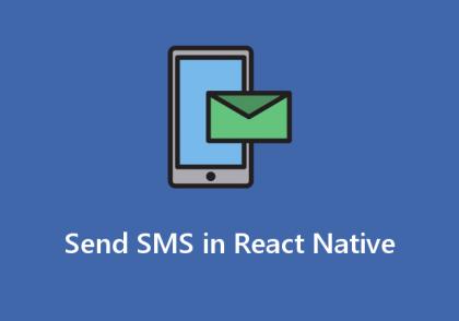 ارسال sms در react native