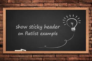 show-sticky-header-on-flatlist-example