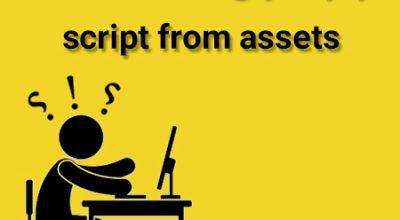 برطرف کردن unable to load script from assets index.android.bundle
